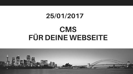 Markus Schirra - CMS Syteme